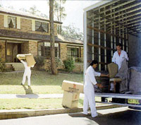 Moving - Loading Truck